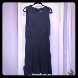 LOFT Dark Gray Dress